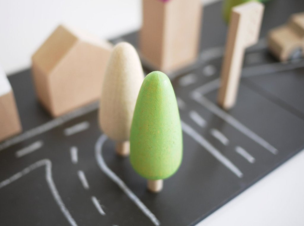 Wooden Toy Town Mount Fuji By Kukkia | Shop Now