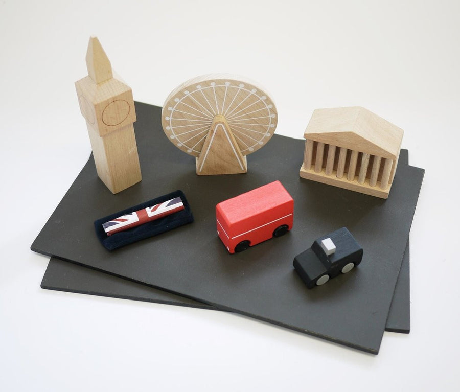 London Wooden City,Wooden Town,Kukkia - Snowballs and Sandcastles