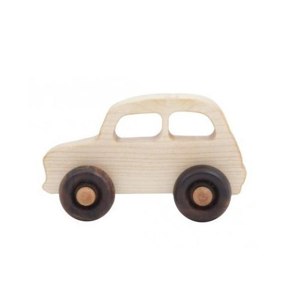 Wooden French Car,Wooden Car,Wooden Story - Snowballs and Sandcastles