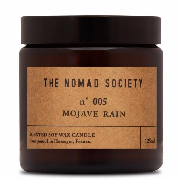Mojave Rain Travel Candle,Candle,The Nomad Society - Snowballs and Sandcastles