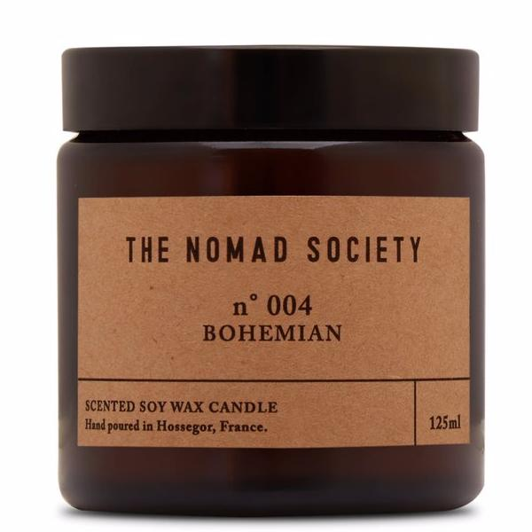 The Nomad Society Bohemian Soy Travel Candle
