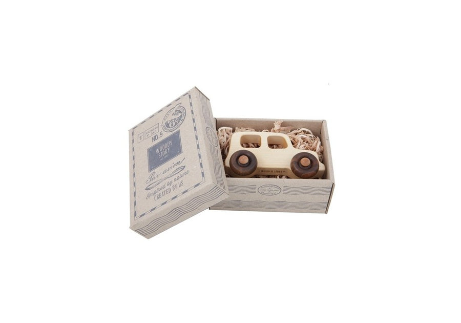 Wooden Off Road Vehicle,Wooden Car,Wooden Story - Snowballs and Sandcastles