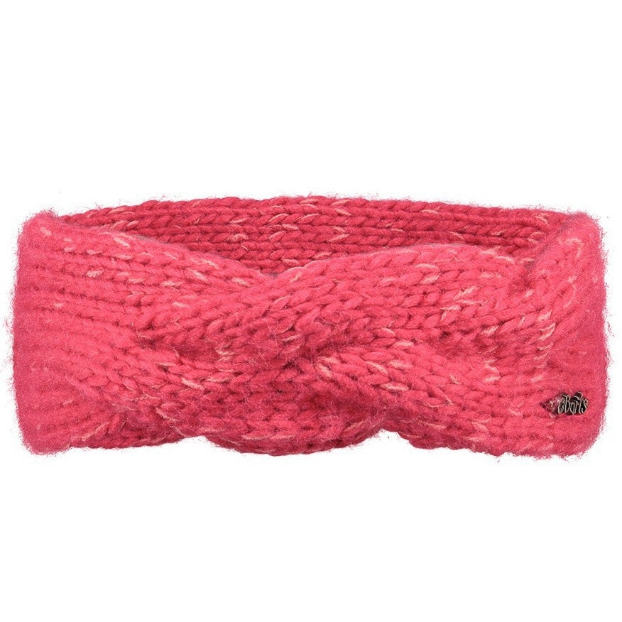Girls Knitted Headband in Pink | By Barts