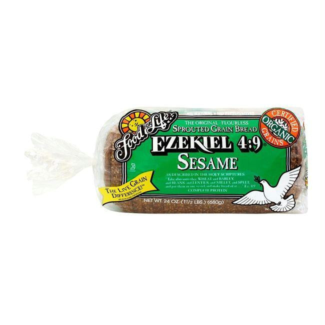 Food For Life Organic Ezekiel 4 9 Sprouted Whole Grain Sesame Bread 2 Demo Kehe