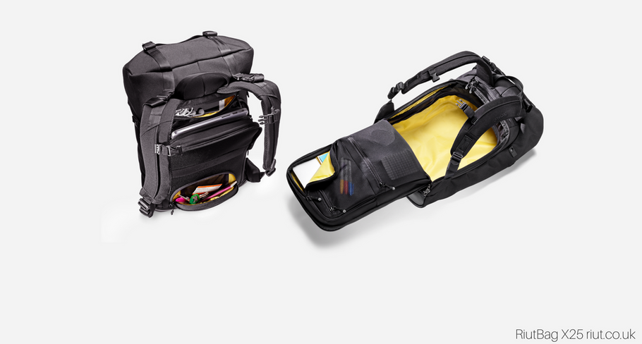 Newest RiutBag X25 revealed: convertible, 2-in-1 and fully upgraded