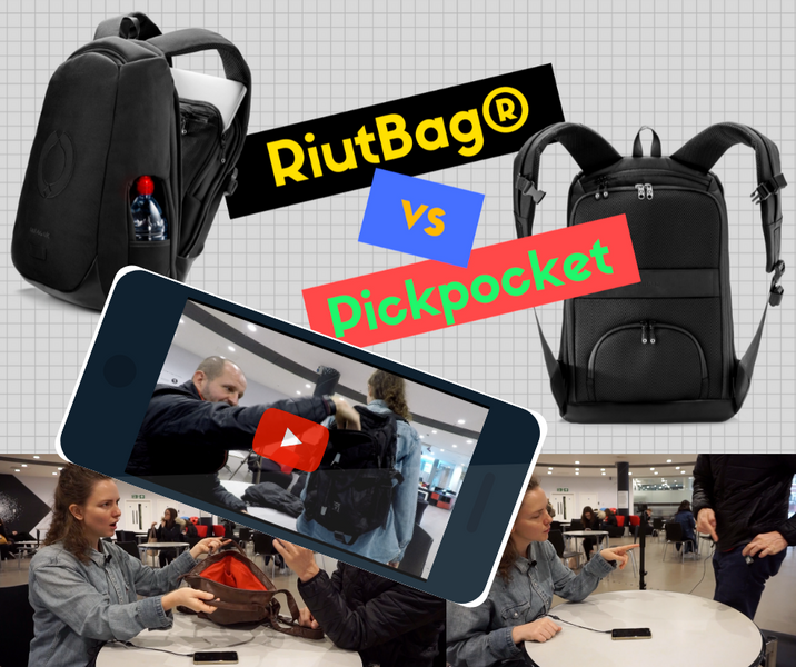 How can a pickpocket get into the RiutBag? (Video)