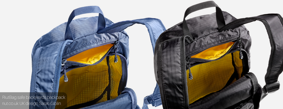 Introducing RiutBag Crush 2017: Safe urban daypack