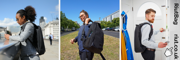 anti theft backpack RiutBag online startup kickstarter