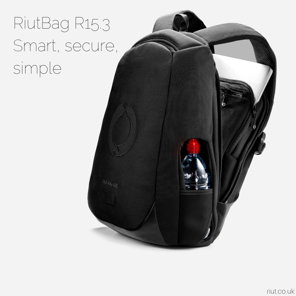 Riutbag By Riut Secure Urban Backpacks Travel Pounch Tas 6 In 1 Bag Backpack