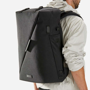 15.6 laptop large professional black backpack cabin laptop riutbag x35 x25 anti theft secure men