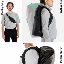Load image into Gallery viewer, expandable high security laptop backpack riutbag x25