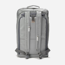 Load image into Gallery viewer, light grey tarpaulin easy-clean backpack anti theft modern minimalist 20 litres