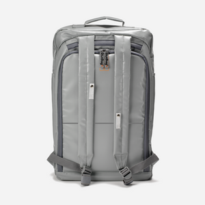 light grey tarpaulin easy-clean backpack anti theft modern minimalist 20 litres