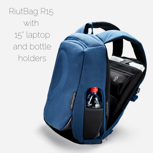 "RiutBag R15.2 | Secure backpack for 15"" laptop 