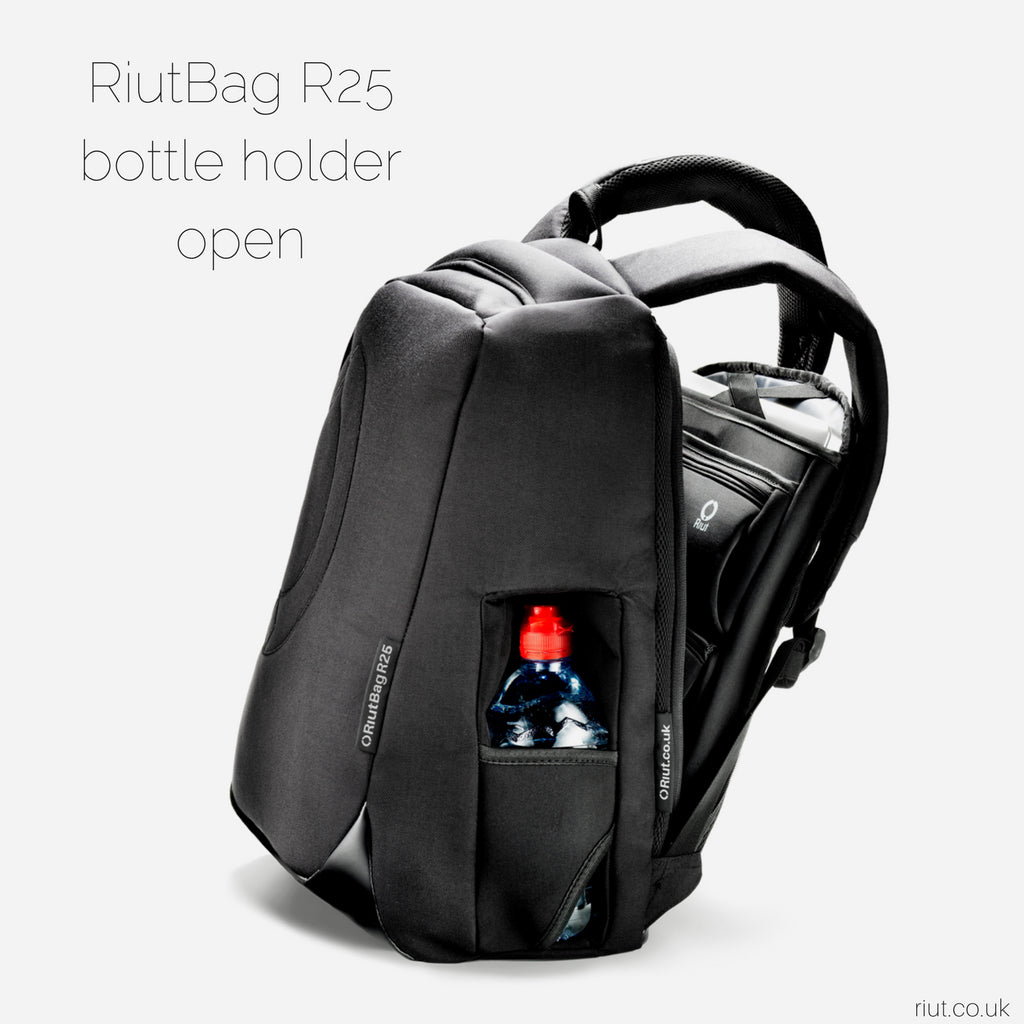 "RiutBag R25 | Extra large secure backpack for 15"" laptop"
