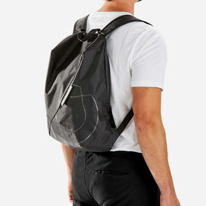 lightweight backpack small black riutbag crush for men 14 litres