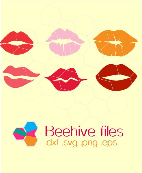 Download Lips in svg, dxf, png, eps format - BEEHIVEFILES ...