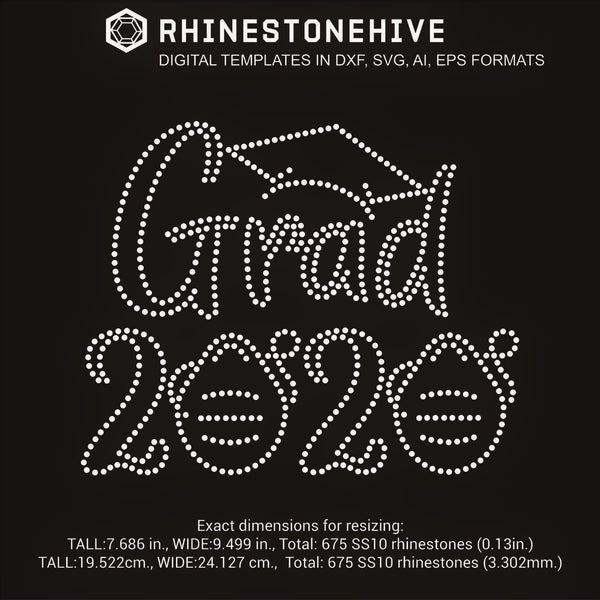 2020 Grad with face masks paper rolls rhinestone template digital download, ai, svg, eps, png, dxf