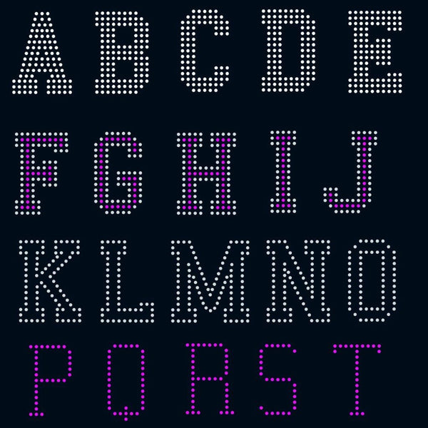 College Sport letters Alphabet digital download, svg, eps, ai, png, dxf rhinestone template - rhinestone templates