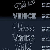 Venice 5 designs rhinestone template digital download, svg, eps, png, dxf - rhinestone templates