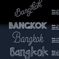 Bangkok 5 designs rhinestone template digital download, svg, eps, png, dxf - rhinestone templates
