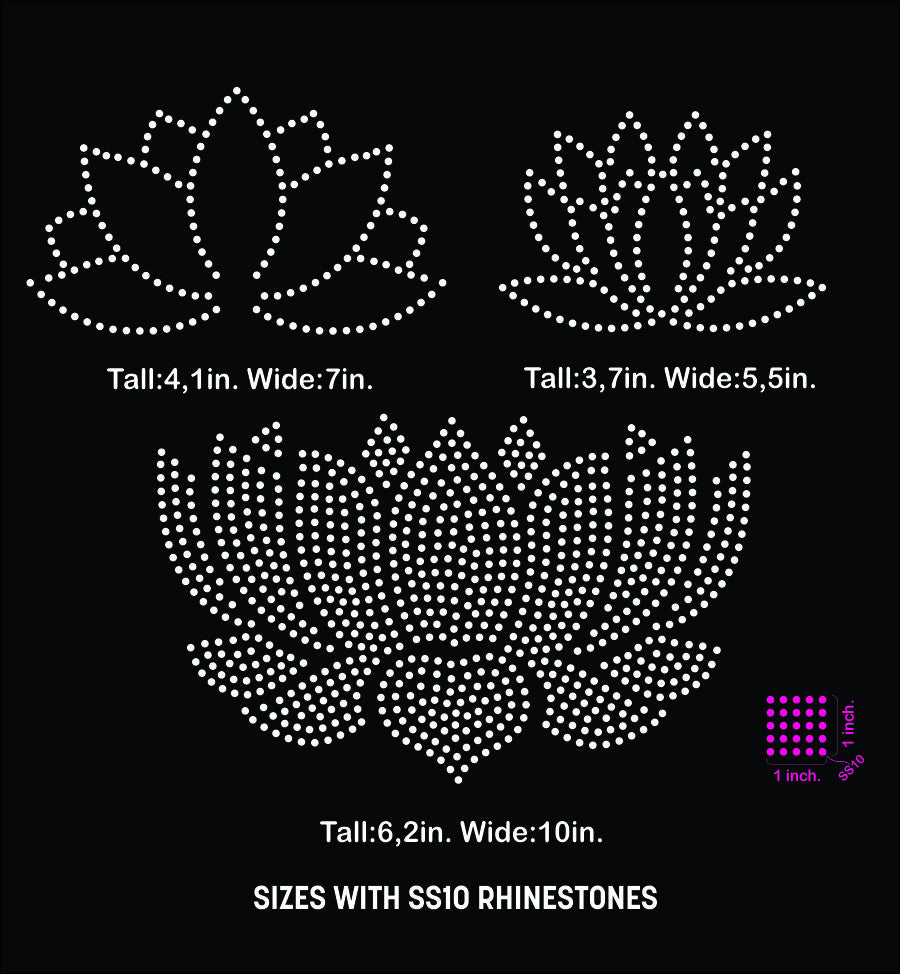 Lotus flower rhinestone template digital download svg eps studio3 lotus flower rhinestone template digital download svg eps studio3 beehivefiles izmirmasajfo