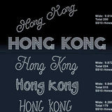 Honk Kong 5 designs rhinestone template digital download, svg, eps, png, dxf - rhinestone templates
