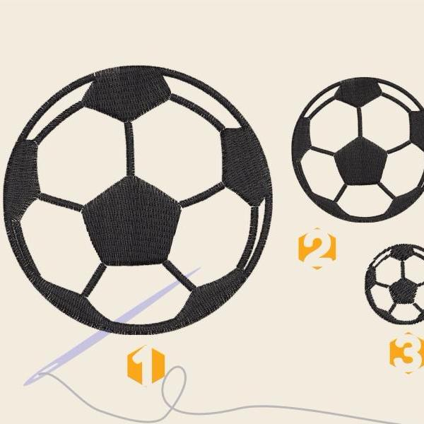 Soccer ball Embroidery files SS10