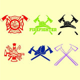 Firefighter signs in svg, dxf, png, eps format - rhinestone templates