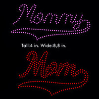 Mom, Grandma, Granny, Mommy rhinestone template digital download, svg, eps, studio3, png, dxf - rhinestone templates