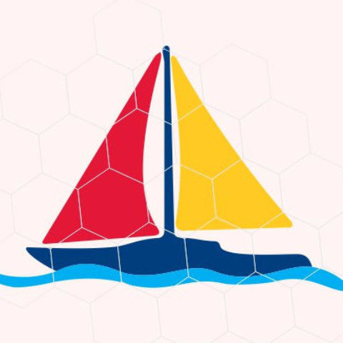 Sailing yacht in svg, dxf, png, eps format. Instant download for Cricut Design Space and Silhouette Studio - rhinestone templates