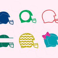 Helmet, sport game, baseball helmet, football helmet in svg, dxf, png - rhinestone templates