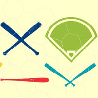 Baseball, baseball items in svg, dxf, png, eps format - rhinestone templates