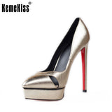 Size 35-42 Women's Platform High Heel Shoes Stiletto Brand Quality Heels Pumps Ladies Fashion Sexy Gladiator Shoes R08754