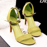 Fashion Pointed open Toe Platform Sexy High Heels Shoes Women Shoes 2017 Ladies Stiletto Sandals Mujer Summer Shoes 8cm Heel
