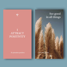 "Affirmation cards ""BEE INspired"""