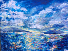 Big Blue Sky Giclee Print