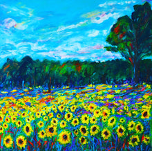 Sunflower Fields Giclee Print