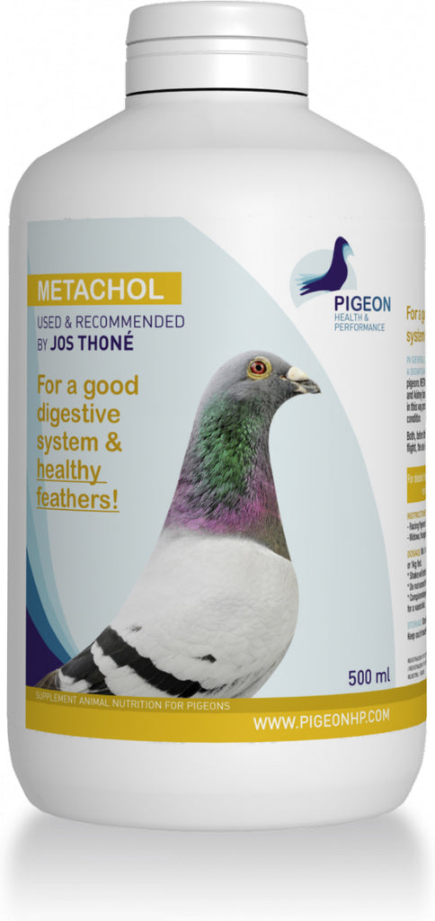 METACHOL, HEALTHY FEATHERS by a GOOD DIGESTION