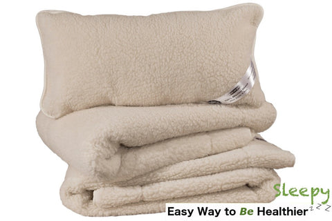 Sleepy - Merino Wool Bedding Set - 100% Real Wool