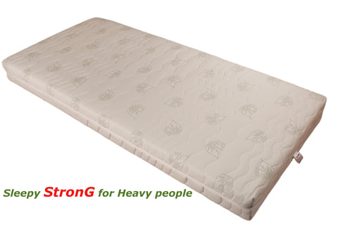 SleePy STRONG ALOE Mattress- for Heavy People up to 170kg