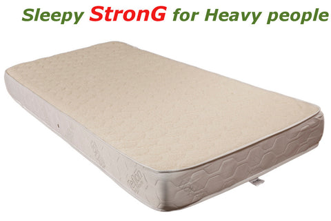 Sleepy STRONG WOOL Mattress - for Heavy People up to 170kg