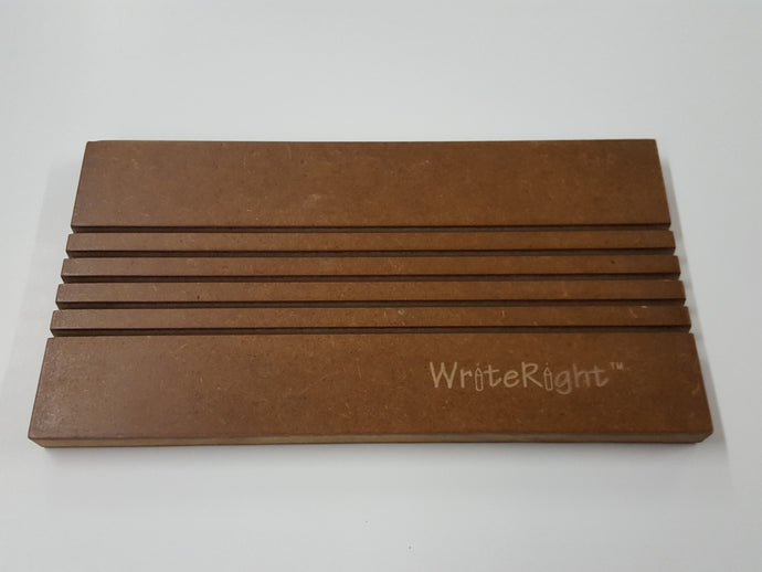 WriteRight® Wooden Stand with slots for storage