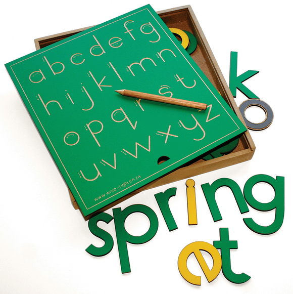 Letter Set - 80mm Alphabet letters - Lowercase letters & vowels