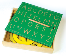 Letter Box Set - ABC board & 120mm Capital Alphabet Letters (x26)