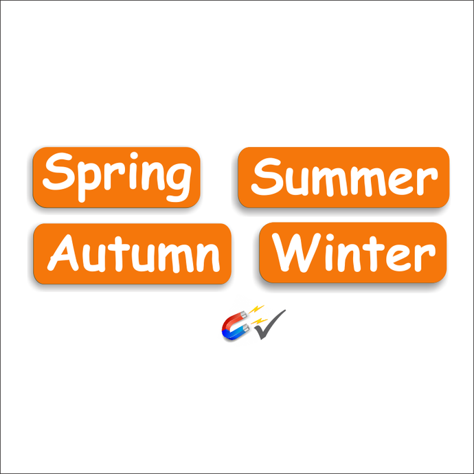 Seasons Set - Spring, Summer, Autumn and Winter