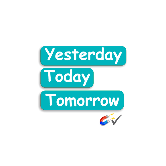 Days Set - Yesterday, Today and Tomorrow