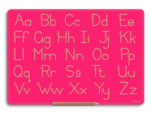 Standard Print Alphabet Boards - Capital and lower case letters