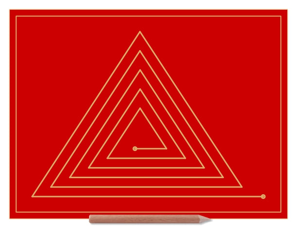 Triangle Doodle Board