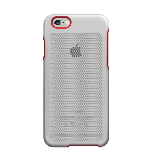 Sevenmilli Honeycomb iPhone 6 White and Red